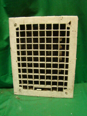 Antique Cast Iron Heating Grate Square Design 14 X 11 R
