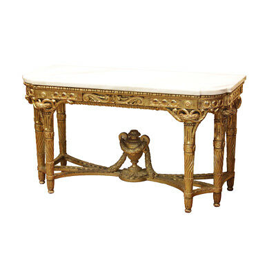 Fine Quality French Early to Mid 19th C Louis XVI style Carved and Gilt Wood