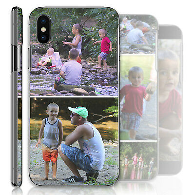 Personalised Phone Case Custom Photo Collage Hard Cover Personalize With Images