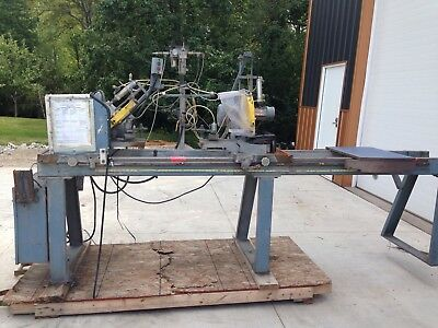 CTD Double metal Miter Cut Off Saw CDM200 GREAT SHAPE REPOSSESSION UNIT WORKS