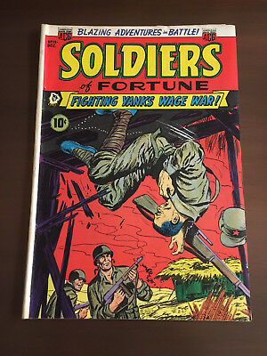 Soldiers of Fortune #11 1952-ACG-Gruesome Pre-Code War comics-Ogden Whitney-VG+