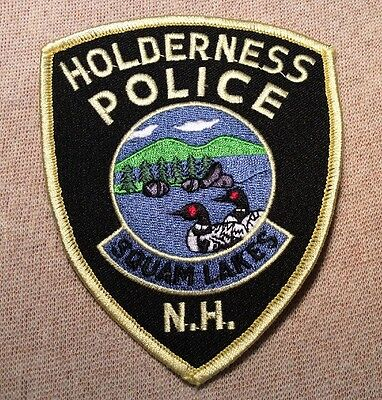 NH Holderness New Hampshire Police Patch
