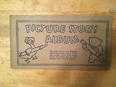 Nabisco Shredded Wheat Picture Story Album Vintage - 10 Cards