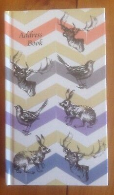 Small Index Address Phone Books Hard Cover Pocket Size 8.5cm x 15cm Animals New