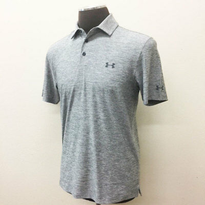 2c74e372b0 Under Armour Golf Men's Elevated Heather Polo Shirt True Gray Size: Xl New  19369