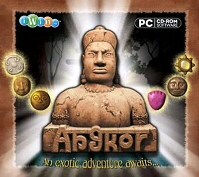 Angkor Adventure - Match Stones PC Windows XP Vista 7 8 10 Sealed New