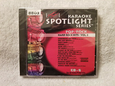 Sound Choice Karaoke Spotlight Series CDG Pop/Rock-Hard Rock Hits- Vol. 3 - 8803