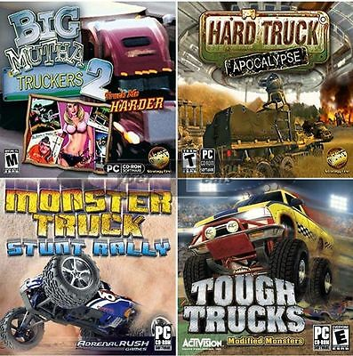 Truck Racing Driving Action Madness Games PC Windows XP Vista 7 8 10 Sealed New