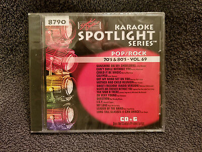 Sound Choice Karaoke CD+G Spotlight Series Pop/Rock-70's & 80's-Vol. 69 - 8790