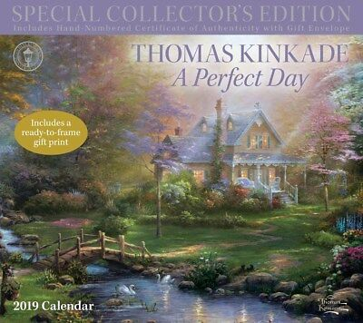 Thomas Kinkade Special Collector's Edition 2019 Deluxe Calendar by Andrews McMee