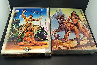 "RARE COMPLETE 50 SET - JOE JUSKO'S Colossal Cards 6.75""X10"" EDGAR RICE BURROUGHS"