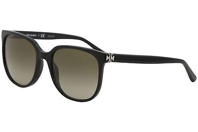 872699fdb2d Tory Burch Women s TY7106 TY 7106 1377 13 Black Fashion Square Sunglasses  57mm