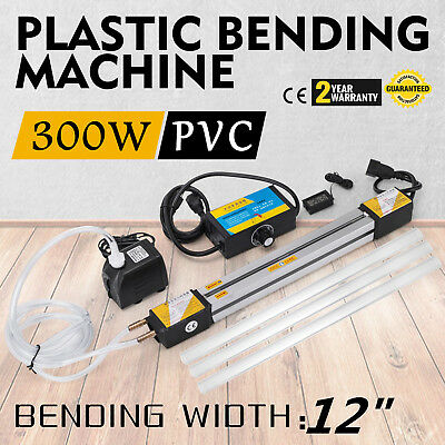 "12""(300mm) Plastic Acrylic Bending Machine Heater 110V Hand Held Compact HOT"