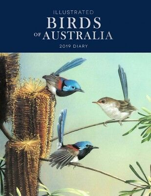 Illustrated Birds of Australia 2019 Diary by Browntrout