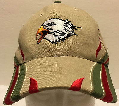 "Boy Scouts of America Eagle Fitted Hat Size Medium 22"" Camping Scout Be Prepared"