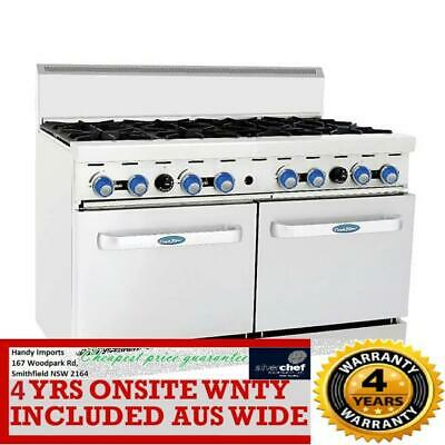 Cookrite 8 Burner With Oven Ato-8B-F Ng