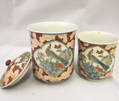 Chinese Antique Porcelain Famille Rose Cups
