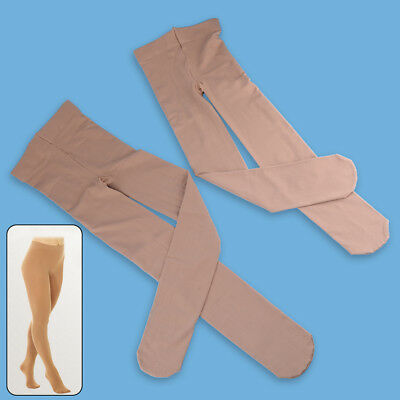 OVER THE BOOT ICE ROLLER SKATING TIGHTS Stocking VARIOUS SIZES NATURAL TAN NEW