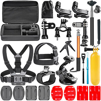 Neewer 23-In-1 Action Camera Accessory Kit Tripod Monopod for GoPro Hero 3 3+ 4