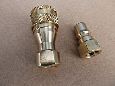 2 x Hose Connectors Couplings for Carpet Cleaning machine with TWIN VITON SEALS