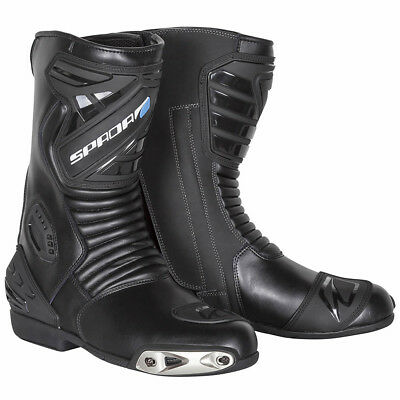 Spada Sportor Mens Black Motorcycle Motorbike Sports Boots