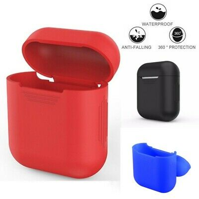 Silicone Wireless Bluetooth Earphones Headphone Earbud Case Charging Box Cover