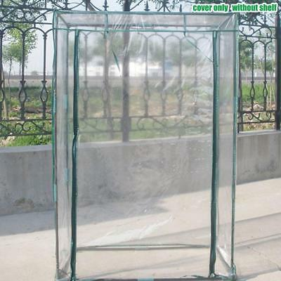 Tiers Greenhouse Steel Frame Plastic PVC Cover Garden Plant Grow Shade Hood