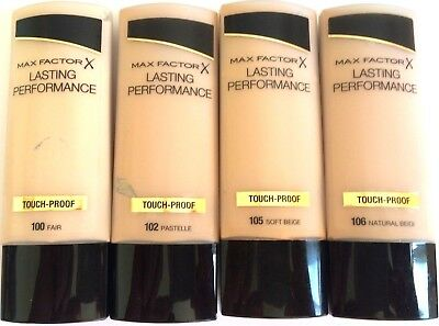 MAX FACTOR LASTING PERFORMANCE TOUCH-PROOF 35ml - VARIOUS USE DROP MENU