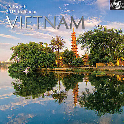 Vietnam 2019 Square Wall Calendar (Gifted Stationery) Free Postage
