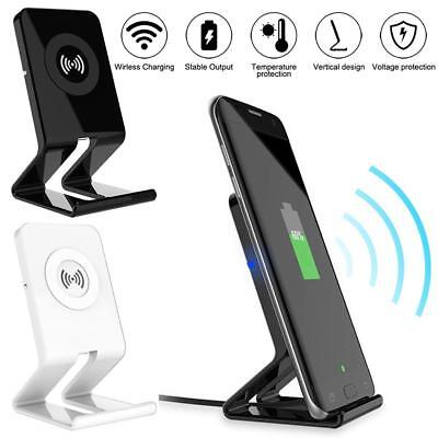 Lot For Samsung Galaxy S9/ S9+ Plus Wireless Qi Fast Charger Charging Stand Dock