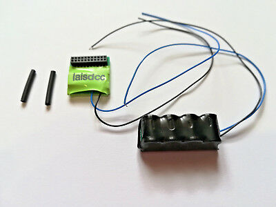 Laisdcc motor + 6 Function MTC 21-Pin DCC Decoder with stay alive kit. UK Stock.