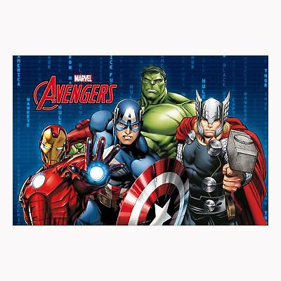 MARVEL AVENGERS FLOOR MAT KIDS BOYS BEDROOM 40cm x 60cm