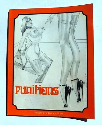 PUNITIONS. Dessins JP du Maine. Dominique Leroy 1978. EO. Pour ADULTE. .