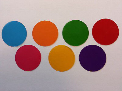 Microscope 32mm Set of FIVE Solid Color Filters – CHOOSE THE COLORS YOU WANT!!!