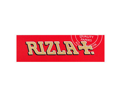 RIZLA RED CIGARETTE ROLLING PAPERS ORIGINAL BOOKLETS - Various Quantities