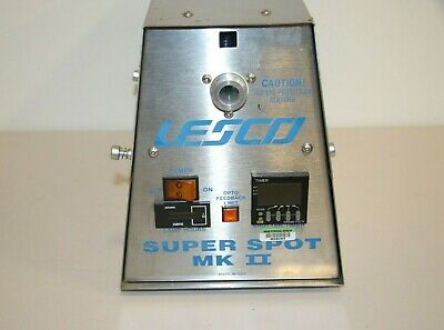 Used Lesco Super Spot MK II UV Curing System 17674