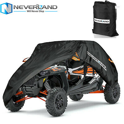 Heavy Duty 2 Row Seats Utility Vehicle Cover Fit for Polaris RZR XP 4 1000 EPS
