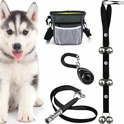 Kit 4 In 1 Puppy Training Essentials Whistle Control Ultrasonic Whistle