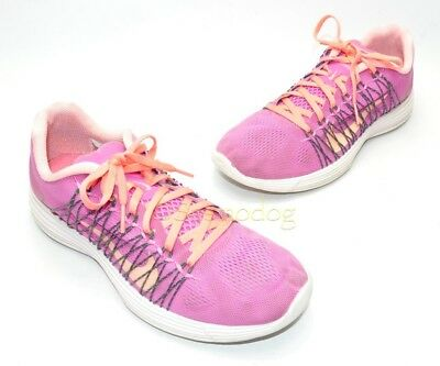 67707da117365 Nike Flex 2012 Womens Running Training Shoes Size 10 Pink Gray.
