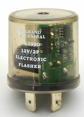 GG LED Flasher for Hyper Flashing Turn Signals Round 2 Terminal 12 Volt #62990