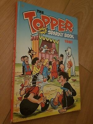The Topper Book 1981 Annual. Unclipped