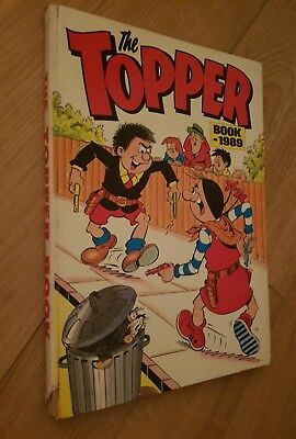 The Topper Book 1989 Annual. Unclipped