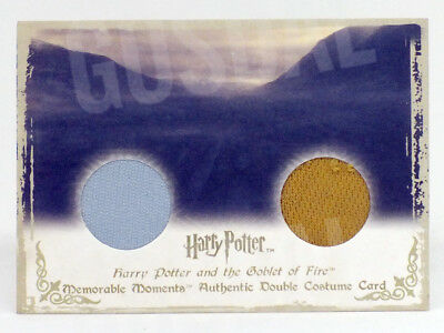 Harry Potter Memorable Moments Fleur Cedric Double Costume Card HP DC7 #075/210