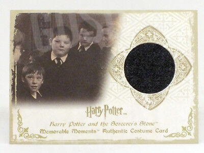 Harry Potter Memorable Moments Vincent Crabbe Costume Card HP C1 #474/660