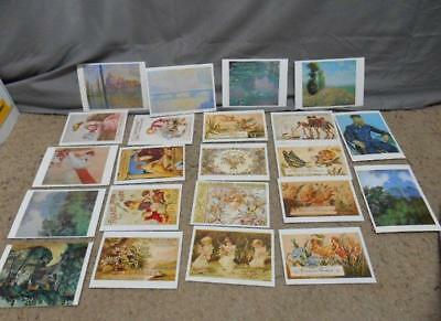 Lot of 218 various post cards Charles Marion Russell + many more
