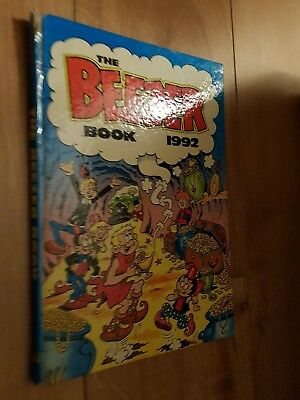 THE BEEZER BOOK 1992 ANNUAL unclipped