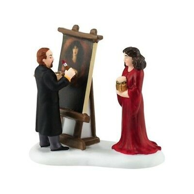 Department 56 Rossetti & His Muse Dickens Village Porcelain Accessory NEW