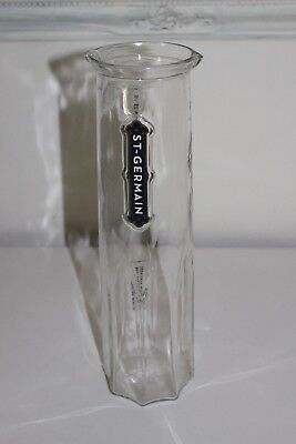 "St Germain Liqueur Absinthe Promo 11-3/4"" Glass Carafe Pitcher Decanter"