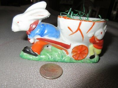 Vintage Ceramic Rabbit Candy Container Japan   Really Cute Highly Collectible!!