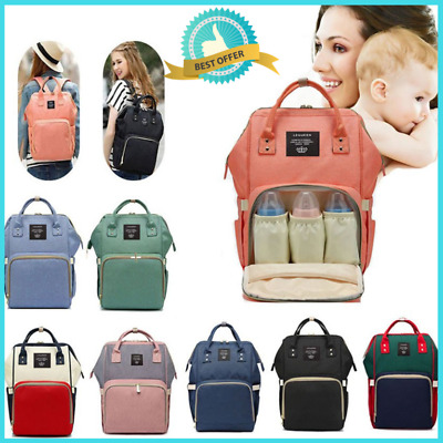 New Multifunction Mummy Diaper Backpack Maternity Nappy Baby Bag Large Capacity